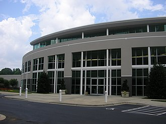 Joe Gibbs Racing - The team's headquarters.