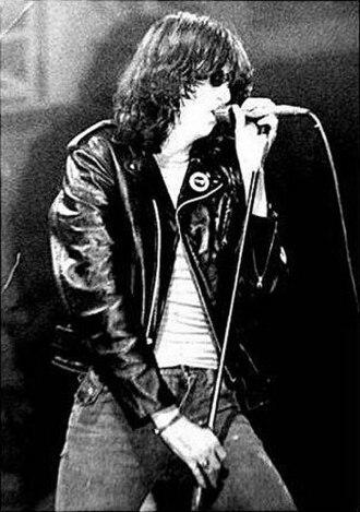 Ramones - Joey Ramone in c. 1980.