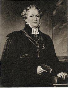 Johan Jacob Hedrén.   Maling af Fredric Westin, 1830.