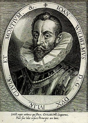 Dominicus Custos - John William, Duke of Jülich-Cleves-Berg by Dominicus Custos