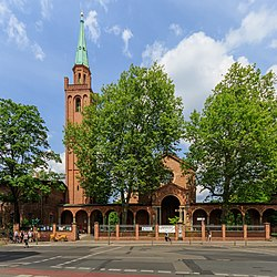 Johanniskirche in Berlin-Moabit (2017)
