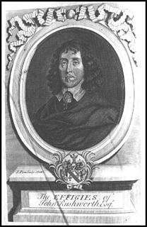 John Rushworth English lawyer, historian and politician