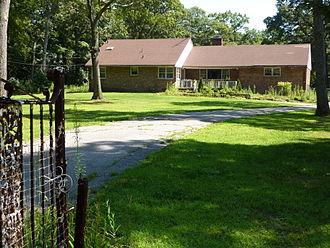 John Coltrane Home - The house in 2009