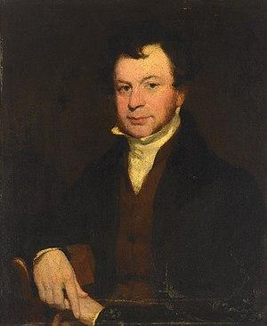 John Gendall - c. 1840 portrait of John Gendall by John Prescott Knight