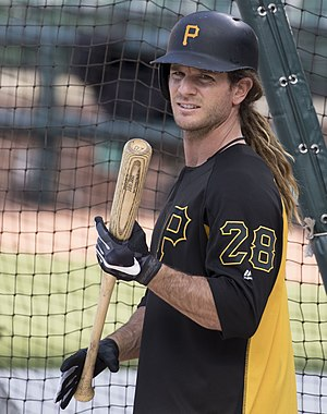 John Jaso - Jaso with the Pirates in 2017