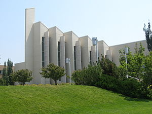 Brigham Young University–Idaho - The John Taylor building, used mainly for religious education