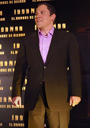 Jon Favreau -  Favreau at an Iron Man photo call in Mexico City, April 2008