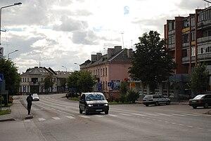 Joniškis - Image: Joniskio centras