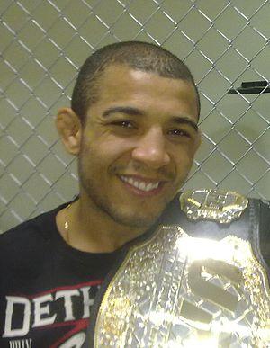 English: MMA Featherweight champion José Aldo ...