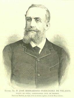 José Bernardino Fernández de Velasco, duque de Frías (1836-1888)