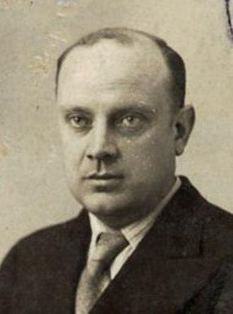José Lino Vaamonde - José Lino Vaamonde from his identity card for the 1937 Paris Exposition