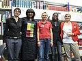 Josefine Paul, Ayishat Falode, Petra Landers, Diana Ajaine Asak und Nadine Lindner (5780153219).jpg