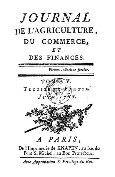 File:Journal de l'agriculture, juin 1766, T5, P3.djvu
