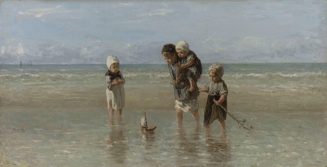 Extreem Bestand:Jozef Israëls - Kinderen der zee 1872.jpg - Wikipedia #FA97