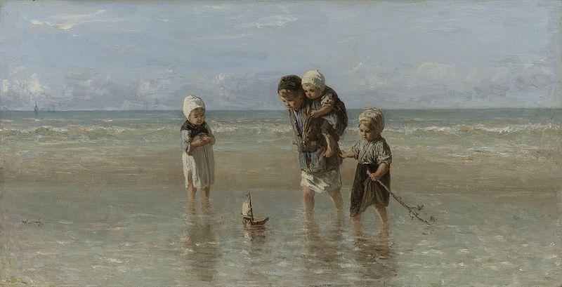 File:Jozef Israëls - Kinderen der zee 1872.jpg