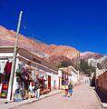 Jujuy -Tumbaya - Purmamarca - Pueblo de Purmamarca 5.JPG