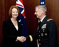 Julia Gillard and Walter L. Sharp April 2011.jpg