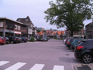 Bilthoven Village in Utrecht, Netherlands