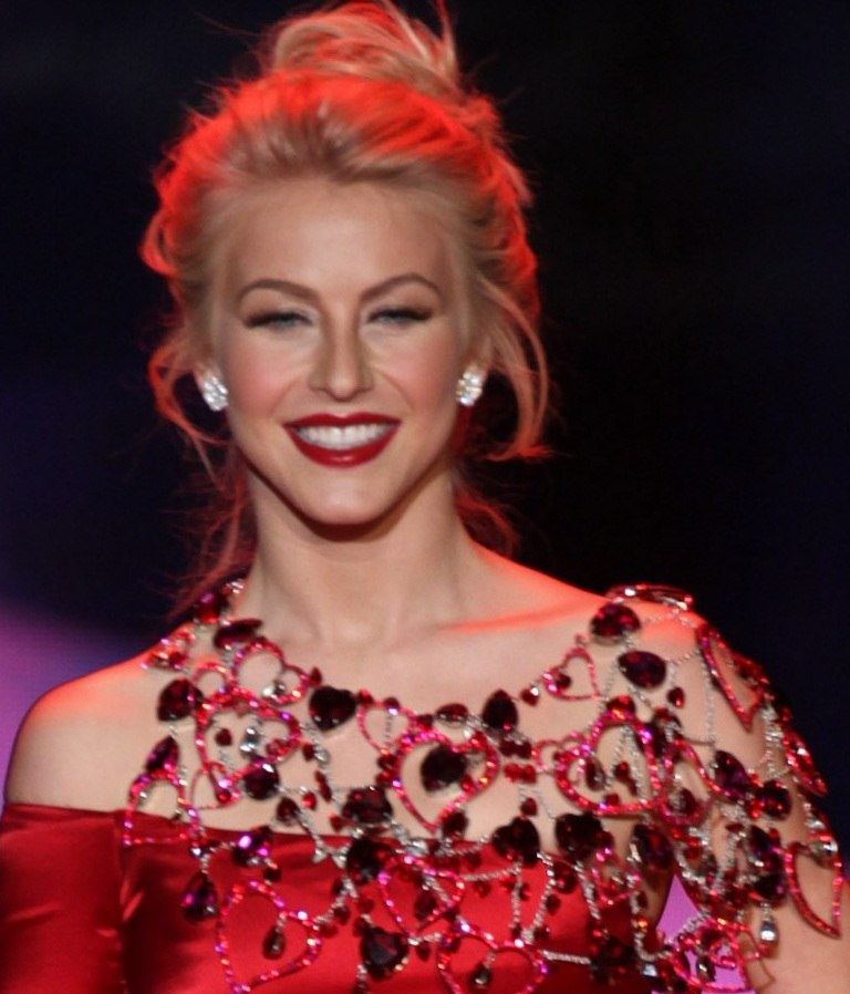 Julianne Hough in Swarovski 2 (cropped)