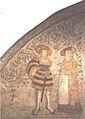Kärlekspar väggmålning Åbo slott 003.jpg