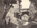 KITLV 100553 - Unknown - Old bridge with shops on the Mar canal at Srinagar in Kashmir in British India - Around 1870.tif