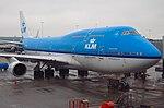 KLM Boeing 747 at Amsterdam Schiphol 26-2-17 (4).jpg