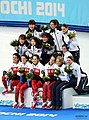 KOCIS Korea ShortTrack Ladies 3000m Gold Sochi 37 (12629818744).jpg
