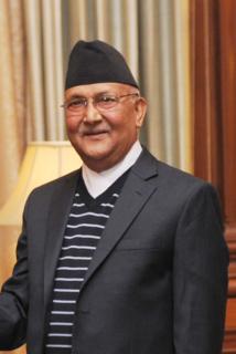 KP Sharma Oli Nepali politician and former Prime minister of Nepal