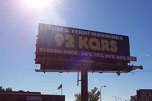 KQRS-FM - KQRS Billboard