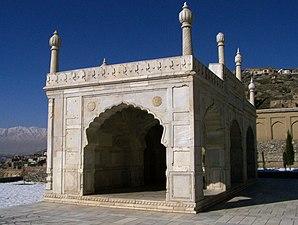 Kabul Baghe Babur mosque.jpg
