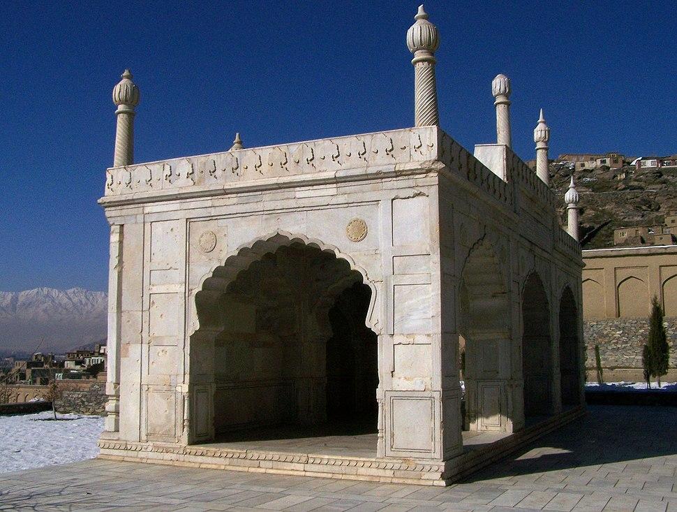 Kabul Baghe Babur mosque