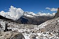 Kadum La pass 5070m. View to the side descent. GPS exact coordinates. - panoramio.jpg