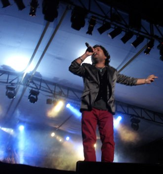 Kailash Kher - Kher performing in 2012