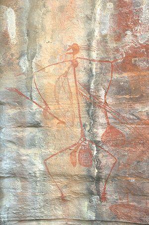 History of graphic design - Image: Kakadu painting hero