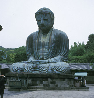 Buddharupa - Giant Amida Buddha of Kamakura, Japan
