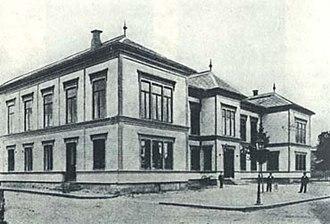 Porsgrunn City Hall - Image: Kammerherregården after 1882 remodelling