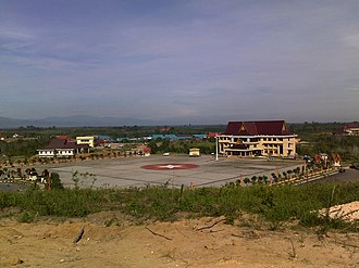 Rokan Hulu Regency - The Government building complex