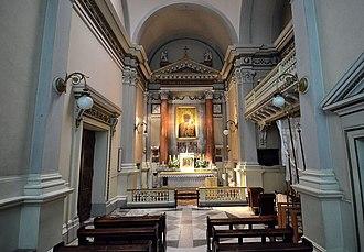 All Saints Church, Warsaw - Chapel of Our Lady of Częstochowa