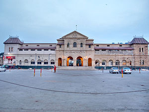 Karachi Cantonment railway station - Karachi Cantonment Station Entrance