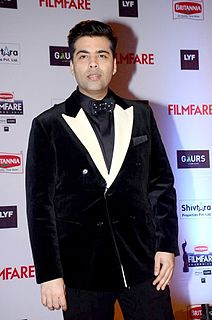 Karan Johar Indian film director, producer, screenwriter and television host