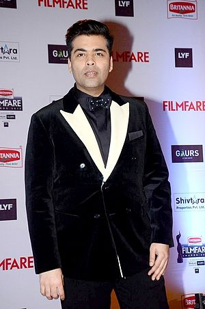 Karan Johar - Karan at 61st Filmfare Awards in 2016