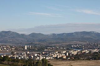 Kardzhali Town in Bulgaria