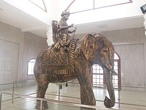 Karikala - Bronze statue of Karikāla Chōḻaṉ