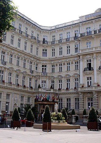Casino Royale (2006 film) - The Grandhotel Pupp, Karlovy Vary, Czech Republic.
