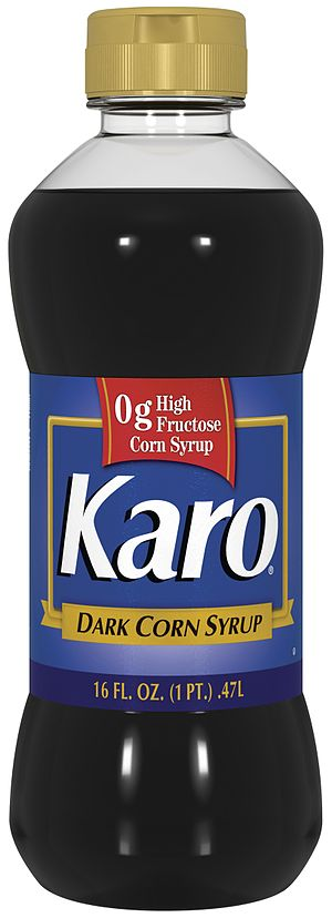 Corn syrup - Image: Karo Dark Pint Label Revision Final