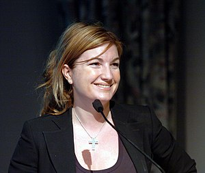 Karren Brady - As guest speaker at the University of Wolverhampton, March 2008.
