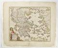 Karta över Grekland - Skoklosters slott - 97986.tif