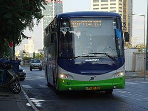 Kavim - Kavim bus on route 112 to Modi'in