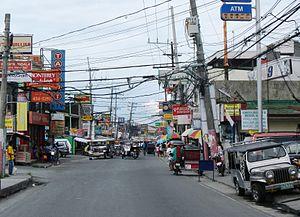Kawit, Cavite - Street scene in Binakayan.