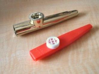Kazoo - Examples of kazoos